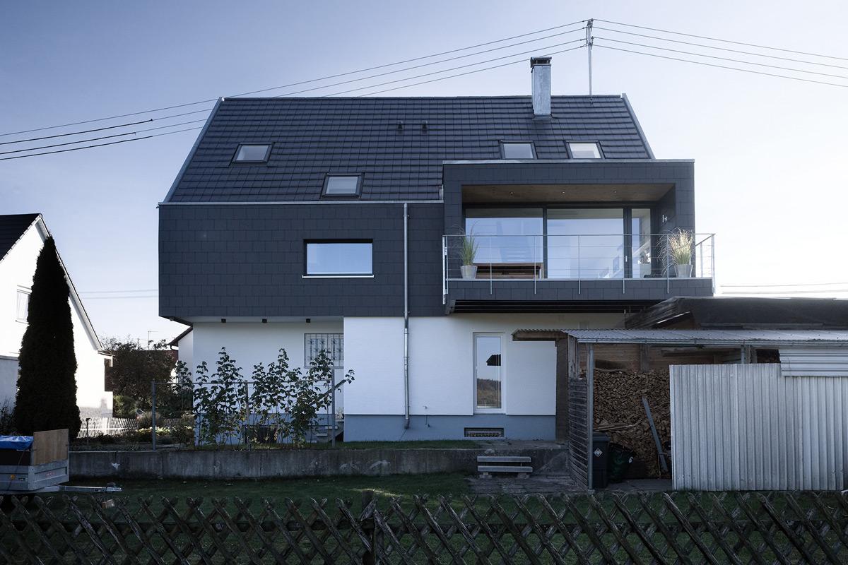 liebel architekten aufstockung haus waldhausen