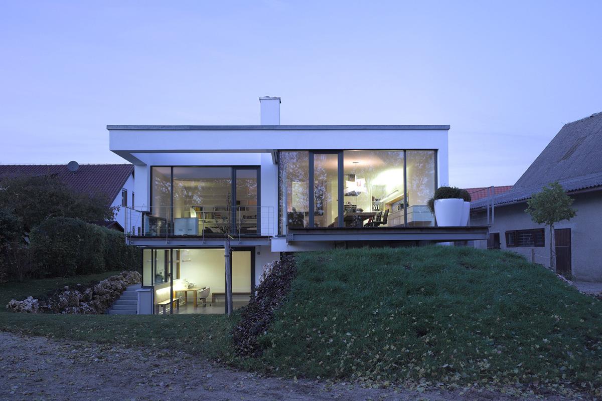 Liebel Architekten Haus Affalterwang